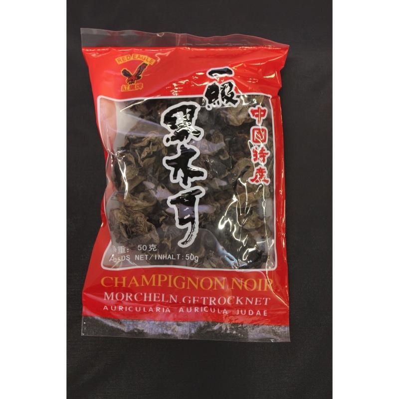 Champignons noirs séchés 50g- Le Carré Asiatique