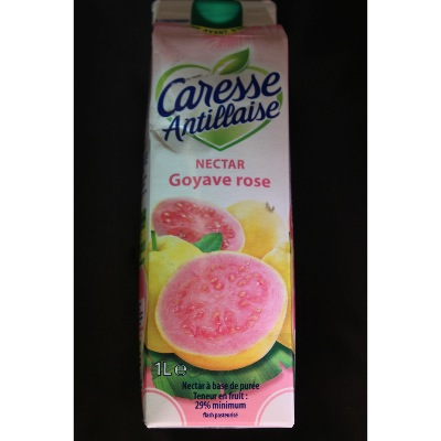 NECTAR GOYAVE ROSE 1L CARESSE ANTILLAISE