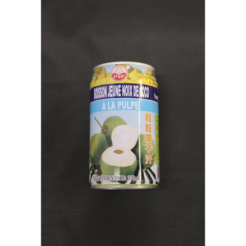 Célèbre Boisson de noix de coco jeune avec pulpe 330ml- Le Carré Asiatique TN14