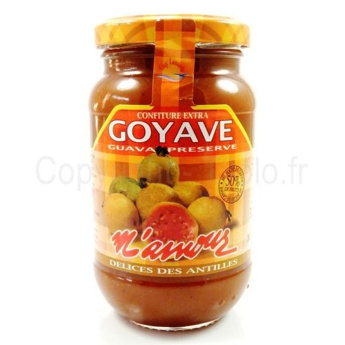 confiture de goyave m 39 amour 325g le carr asiatique. Black Bedroom Furniture Sets. Home Design Ideas