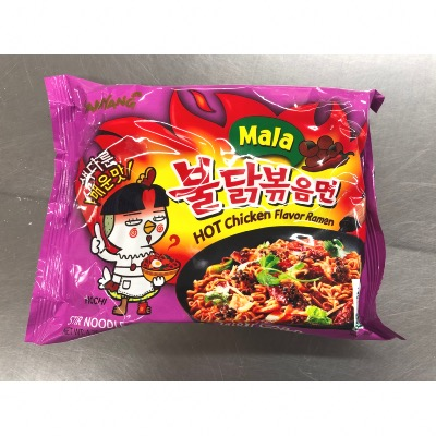 HOT CHICKEN RAMEN MALA 135G