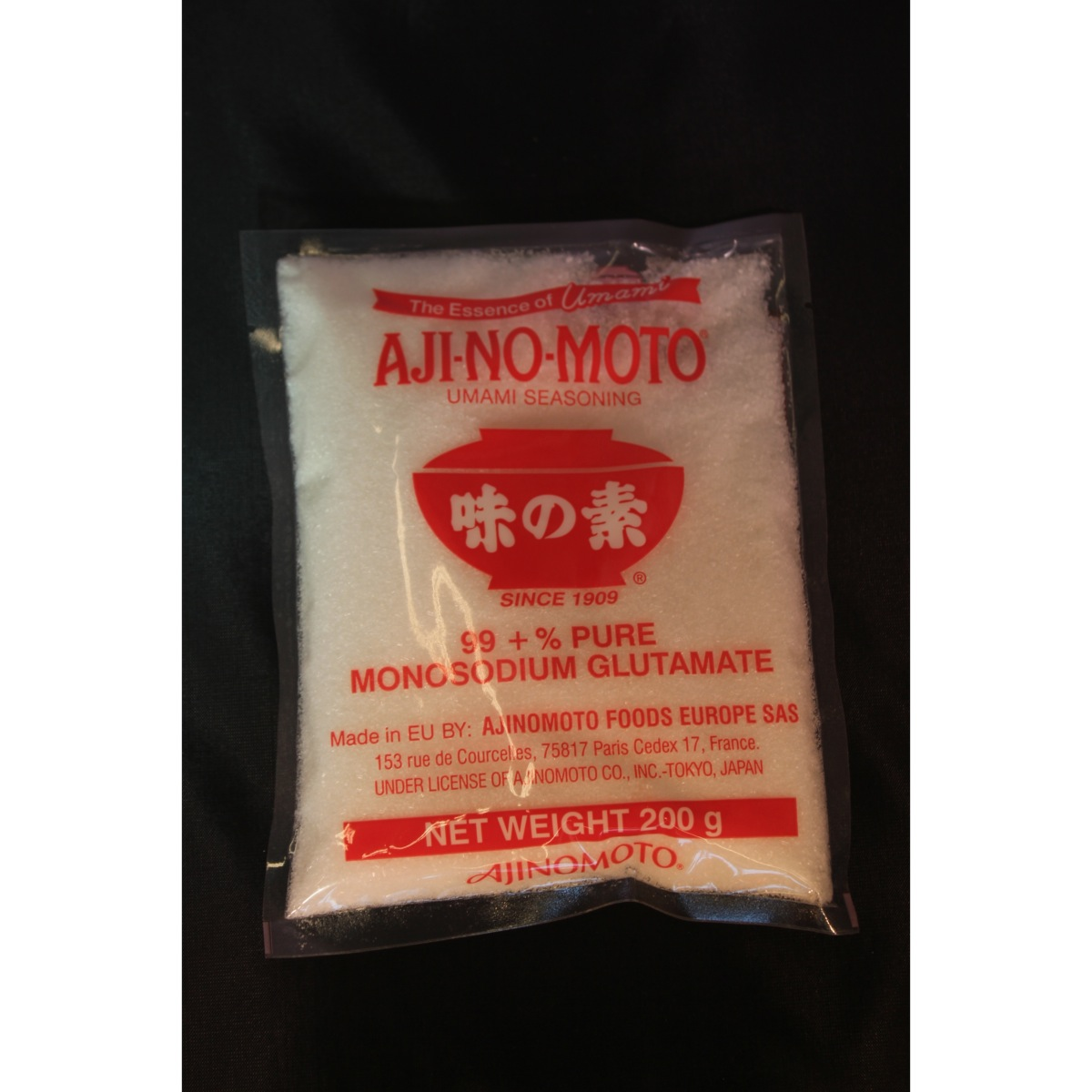 monoglutamate de sodium ajinomoto 200g le carr asiatique. Black Bedroom Furniture Sets. Home Design Ideas