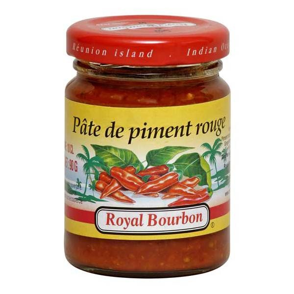 p te de piment rouge royal bourbon 90g le carr asiatique. Black Bedroom Furniture Sets. Home Design Ideas