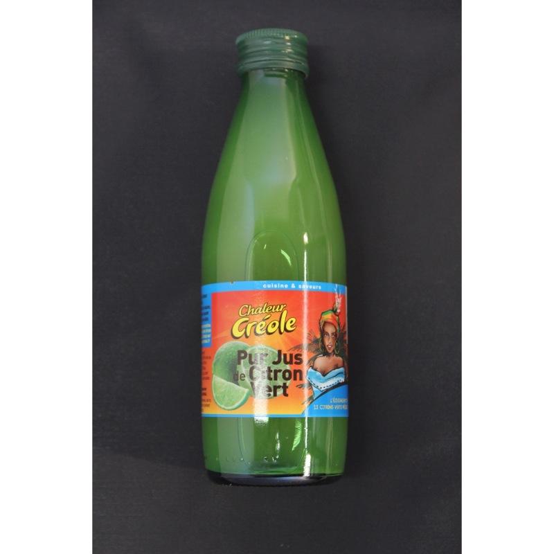 Pur jus de citorn vert Chaleur Créole 25cl - Le Carré