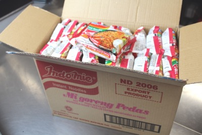 CARTON DE 40 SOUPES INDOMIE MI-GORENG HOT & SPICY 80G