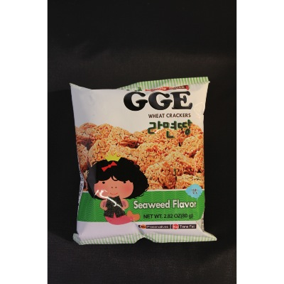 GGE CRACKERS SAVEUR ALGUE 80G*