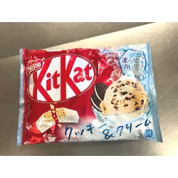KIT KAT COOKIE&CREAM 150.8G