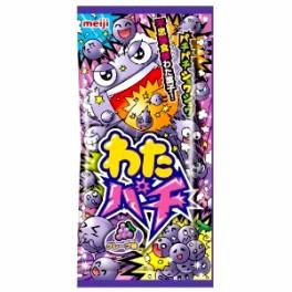 BONBONS JAPONAIS MEIJI WATA-PACHI GRAPE SODA - 14G