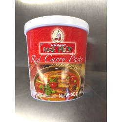 PÂTE DE CURRY ROUGE MAE PLOY 400G