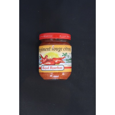 PÂTE DE PIMENT ROUGE CITRON 90G ROYAL BOURBON