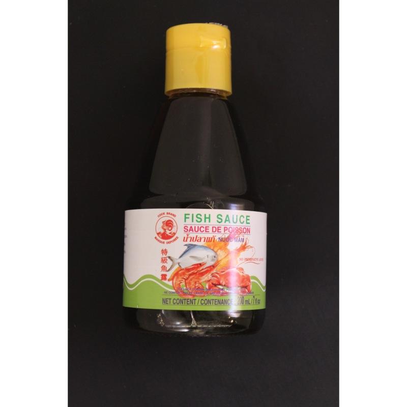sauce de poisson nuoc mam coq 200ml le carr asiatique. Black Bedroom Furniture Sets. Home Design Ideas